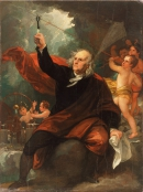 ФРАНКЛИН Бенджамин (Вениамин) (Benjamin_West_Benjamin_Franklin_Drawing_Electricity_from_the_Sky)