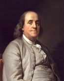 ФРАНКЛИН Бенджамин (Вениамин) (Benjamin_Franklin  by_J_Duplessis_1785)
