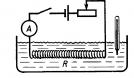 В электрической цепи происходит преобразование энергии упорядоченного...