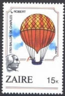 French aeronauts Jacques-Alexandre-César Charles and Marie-Noël Robert made the first manned ascent in a gas balloon, Dec. 1, 1783